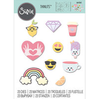 Sizzix - Thinlits Die - Spring Icons