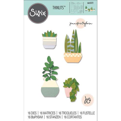 Sizzix - Thinlits Die - Dimensional Botanicals