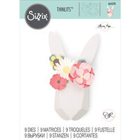 Sizzix - Thinlits Die - Origami Rabbit