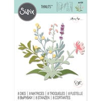 Sizzix - Thinlits Die - Spring Stems