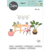 Sizzix - Thinlits Die - Urban Interiors