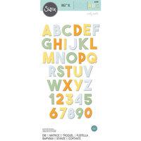 Sizzix - Bigz XL Die - Alphabet Die - Chunky