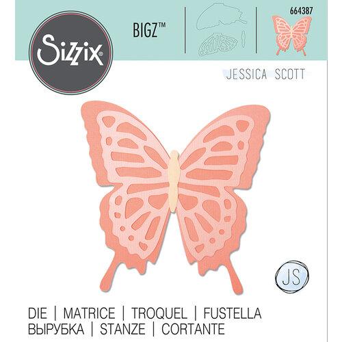 Sizzix - Bigz Die - Layered Butterfly