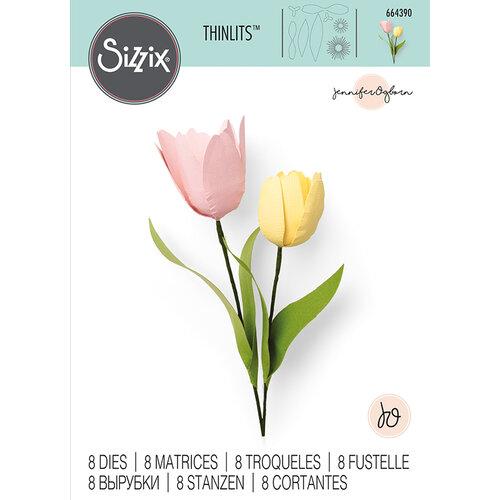 Sizzix - Thinlits Die - Tulip