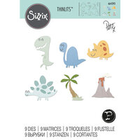 Sizzix - Thinlits Die - Dinosaurs