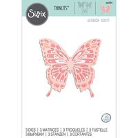 Sizzix - Thinlits Die - Intricate Wings