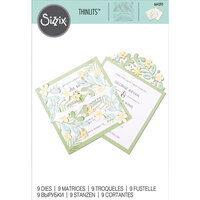 Sizzix - Thinlits Die - Floral Edges 2
