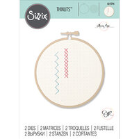 Sizzix - Thinlits Die - Embroidery