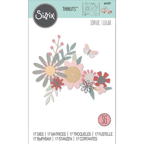 Sizzix - Thinlits Die - Bold Flora