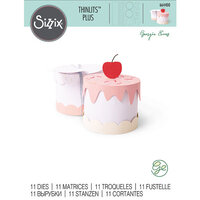 Sizzix - Thinlits Die - Cake Box