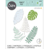 Sizzix - Thinlits Die - Large Tropicals