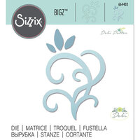Sizzix - Bigz Die - Leaves and Swirls