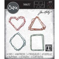 Sizzix - Tim Holtz - Thinlits Die - Geo Frames