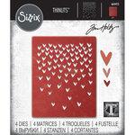 Sizzix - Tim Holtz - Thinlits Die - Falling Hearts