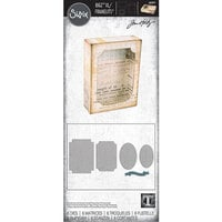 Sizzix - Tim Holtz - Bigz XL Die with Framelits - Curio Box