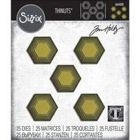 Sizzix - Tim Holtz - Thinlits Die - Stacked Tiles - Hexagons