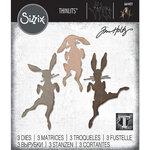 Sizzix - Tim Holtz - Thinlits Die - Bunny Hop