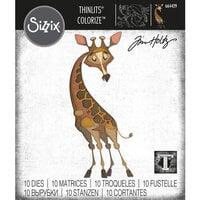 Sizzix - Tim Holtz - Thinlits Die- Gertrude - Colorize