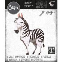 Sizzix - Tim Holtz - Thinlits Die- Agnes - Colorize