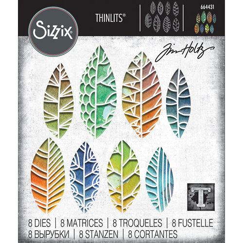 Sizzix - Tim Holtz - Thinlits Die - Cut Out Leaves