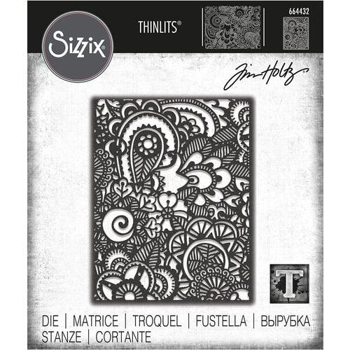 Sizzix - Tim Holtz - Thinlits Die- Doodle Art No. 2