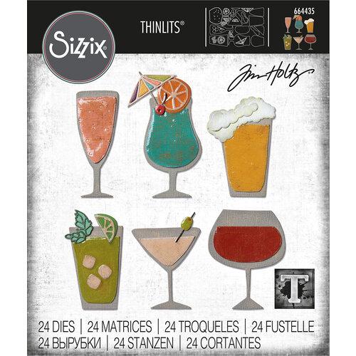 Sizzix - Tim Holtz - Thinlits Die - Happy Hour
