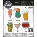 Sizzix - Tim Holtz - Thinlits Die - Happy Hour