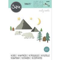 Sizzix - Thinlits Die - Arctic Bear