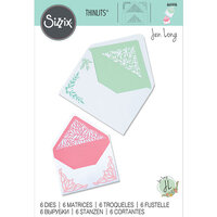 Sizzix - Thinlits Die - Botanical Envelope Liners