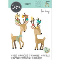 Sizzix - Thinlits Die - Christmas Deer