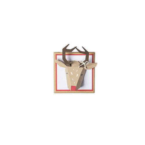 Sizzix - Christmas - Thinlits Dies - Origami Reindeer
