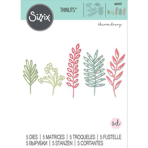 Sizzix - Thinlits Die - Delicate Leaves