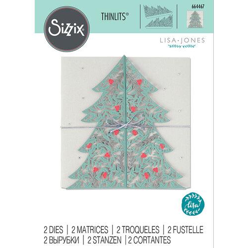 Sizzix - Thinlits Die - Christmas Tree Card
