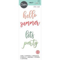 Sizzix - Thinlits Die - Party Phrases