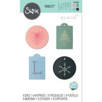 Sizzix - Thinlits Die - Stitched Tags