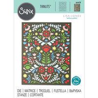 Sizzix - Thinlits Die - Folk Mask