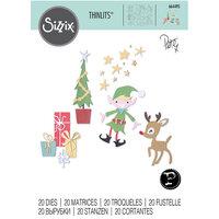 Sizzix - Christmas - Thinlits Dies - Santa's Workshop
