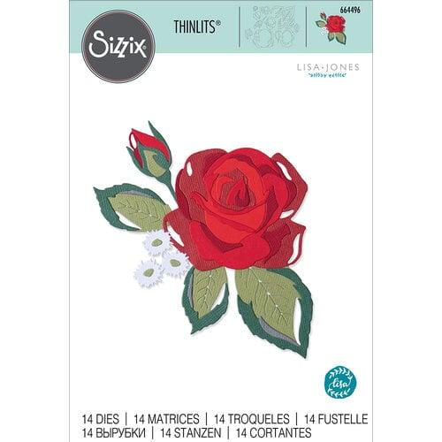 Sizzix - Thinlits Dies - Layered Rose