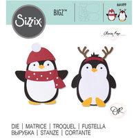 Sizzix - Bigz Die - Penguin Friends