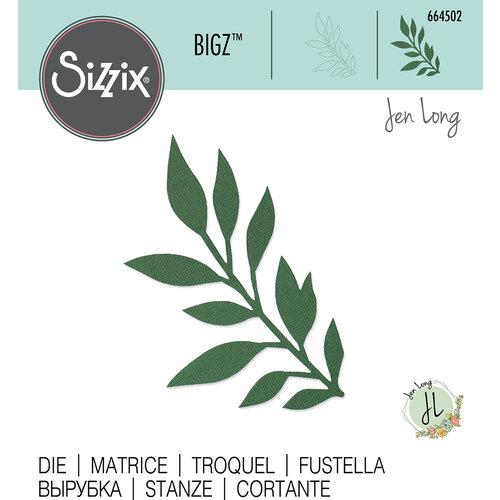Sizzix - Bigz Die - Gathered Leaves