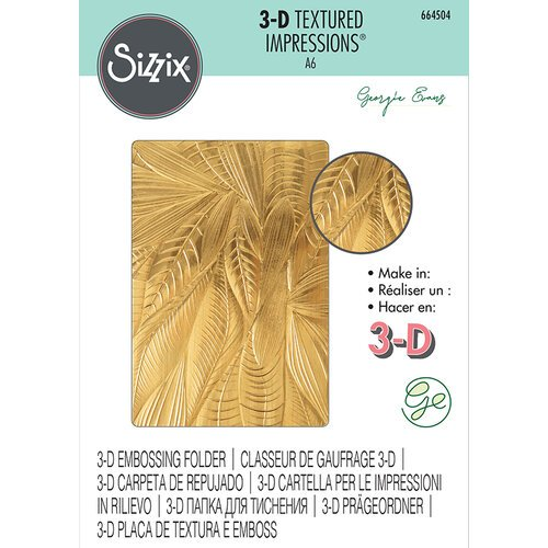Sizzix - 3D Textured Impressions - Embossing Folders - Fallen Leaves