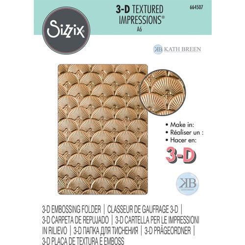 Sizzix - 3D Textured Impressions - Embossing Folders - Art Deco