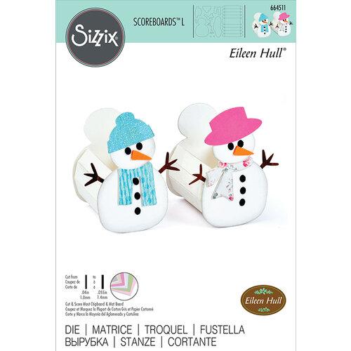Sizzix - Christmas - Scoreboards L Die - Box Snowman