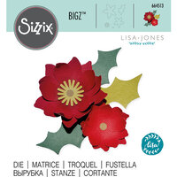 Sizzix - Bigz Die - Winter Poinsettia