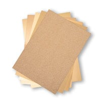 Sizzix - Surfaces - 8.5 x 11 - Opulent Cardstock Pack - 50 Pack - Gold