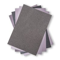 Sizzix - Surfaces - 8.5 x 11 - Opulent Cardstock Pack - 50 Pack - Charcoal