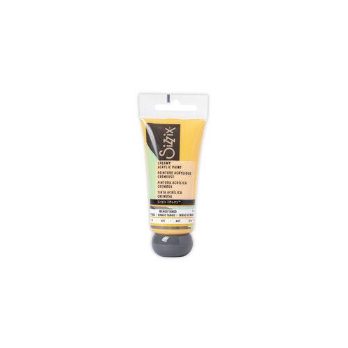 Sizzix - Effectz Collection - Creamy Matte Acrylic Paint - Mango Tango