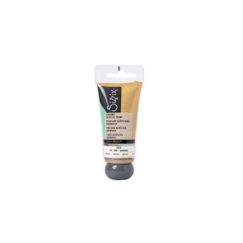 Sizzix - Effectz Collection - Creamy Matte Acrylic Paint - Gold