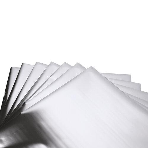Sizzix - Effectz Collection - 6 x 6 Decorative Foil Sheets - Silver