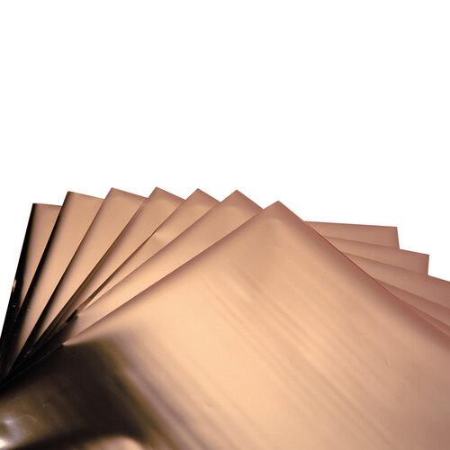 Sizzix - Effectz Collection - 6 x 6 Decorative Foil Sheets - Rose Gold
